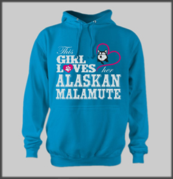 This Girl Loves Malamute Hoody