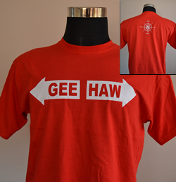 Sale Gee Haw Compass T Shirt